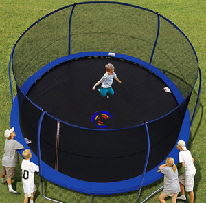 The Backyard Trampoline