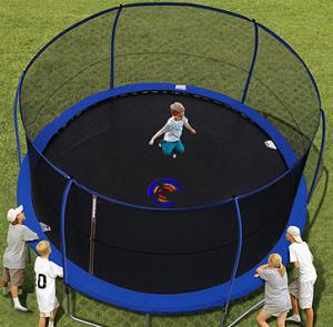 The Backyard Trampoline
