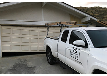 Garage door repairs and methods of fix commercial shutters
