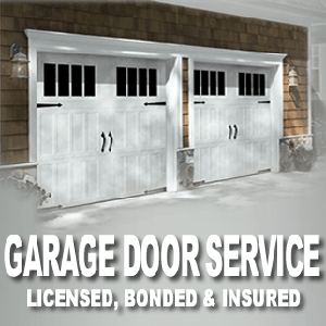 Different doors used in the garage
