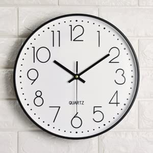 What is the purpose of the wall clock?